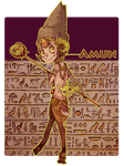 Egyptian God Adoptables [1] by WoeAdopts