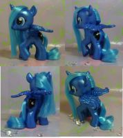 Custom My Little Pony Filly Princess Luna by SanadaOokmai