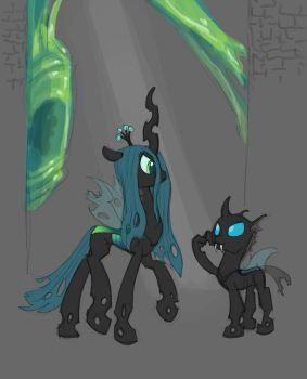 Changeling concept: The Chrysalis Hive by Siansaar