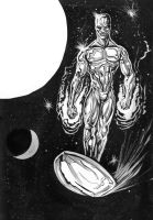 Silver Surfer Drawing Hi Rez by RNABrandEnt