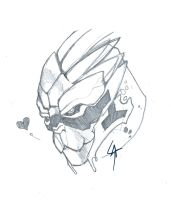 Garrus loves u by lycanlauren
