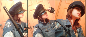 Helena Harper RE 6 Mercenaries cosplay wip by Vicky-Redfield
