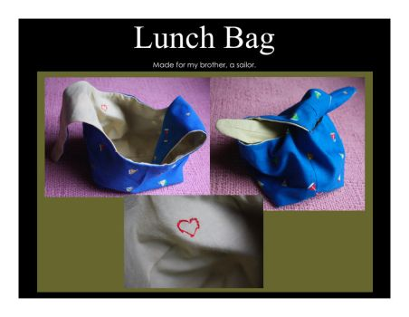 Lunch Bag by kibiart