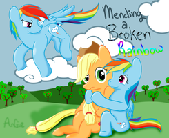 Mending A Broken Rainbow Cover by Catbreon
