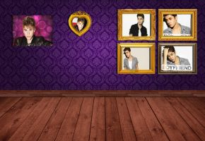 wallpaper Justin bieber room by packdehhhhhhhhhhola