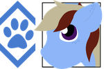OPEN - 20pt Blue Paw Pony by CassidyPeterson