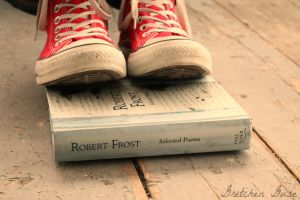 Robert Frost by GretchenGuse