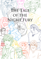 The Tale of the Night Fury: Work in progress by Ally-the-Fox-20