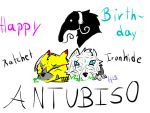 Happy Birthday Antubis 0 by HELLFIREBOT13