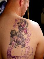 elvin women cover up  before pic by SOULLESSMONSTER