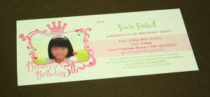 Birthday Party Invite by charz81