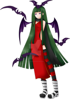 Soul Eater OC Witch : Lilith Lamia Colored by neliel12345