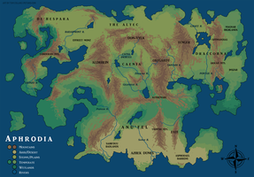 Map Commission - Aphrodia (Physical) by Pyrosity