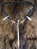Lucky Bone Necklace by Zhon