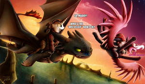 Ask Movie Slate - How to Train your Dragon 2 by jamescorck