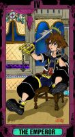 Kingdom hearts tarot card by third-day-risen