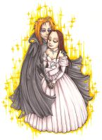 Sarah and Jareth by raevynewings