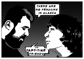 part time friends Comics by funkydpression