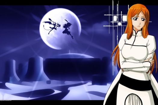 Orihime Inoue Las Noches WP by DrLinuX