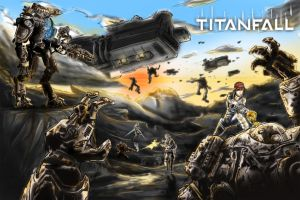 TitanFall by PenclGuy