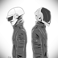 Some Daft Punk by Ezlakh