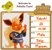 Pokemon Crossing Application by malta
