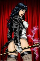 Zatanna's Magic Butt by powerbook125