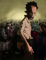 Rick - The Walking Dead by DevonneAmos