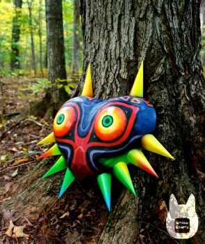 Life Size Majora's Mask Papercraft (Tutorial) by studioofmm