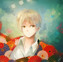 Natsume by h-yde