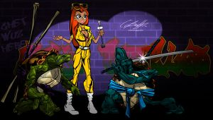 TMNT ANIMATED by onetruth