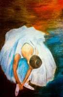 Ballerina  reproduction of degas by MsFishSpot