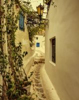 Greece - Athen - Anafiotika - Narrow Street - 02 by GiardQatar
