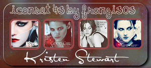 Iconset with Kristen Stewart by franzi303