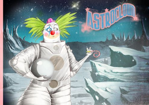 Astroclown by GurbMiguel