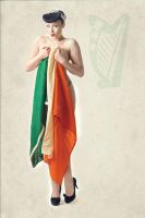 St Patrick's Day Pin-up by Martinphil