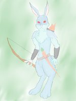 Rabbit(reline) by kang2ting