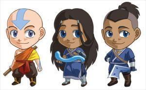 Avatar Set 1: Aang, Katara, Sokka by cosplayscramble