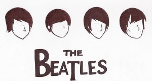The Beatles by juliahiddles
