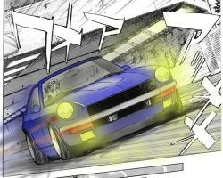 wangan midnight devil Z by evil-hanzel