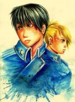 Roy and Riza by RetkiKosmos