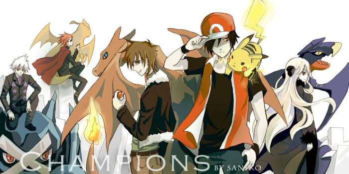 Pokemon champions by sdPink