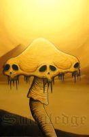 Shroom Skulls Demise by Sinfuledge