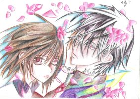Vampire Knight- Yuki and Zero by XxMandyChanxX