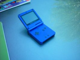 My gameboy sp by Names-Tailz
