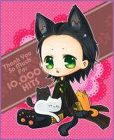 :Loki: Thank you for 10k Hits by PrinceOfRedroses
