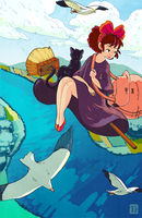 Kiki's Delivery Service by Jay-Bendt