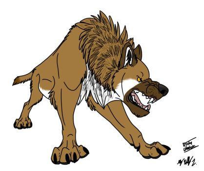 Hyena Creature by Hawaiifan