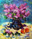 Still life with lilacs by Strangepictures
