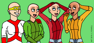 Madame Cueball's Salon - Totally Spies by Rennon-the-Shaved